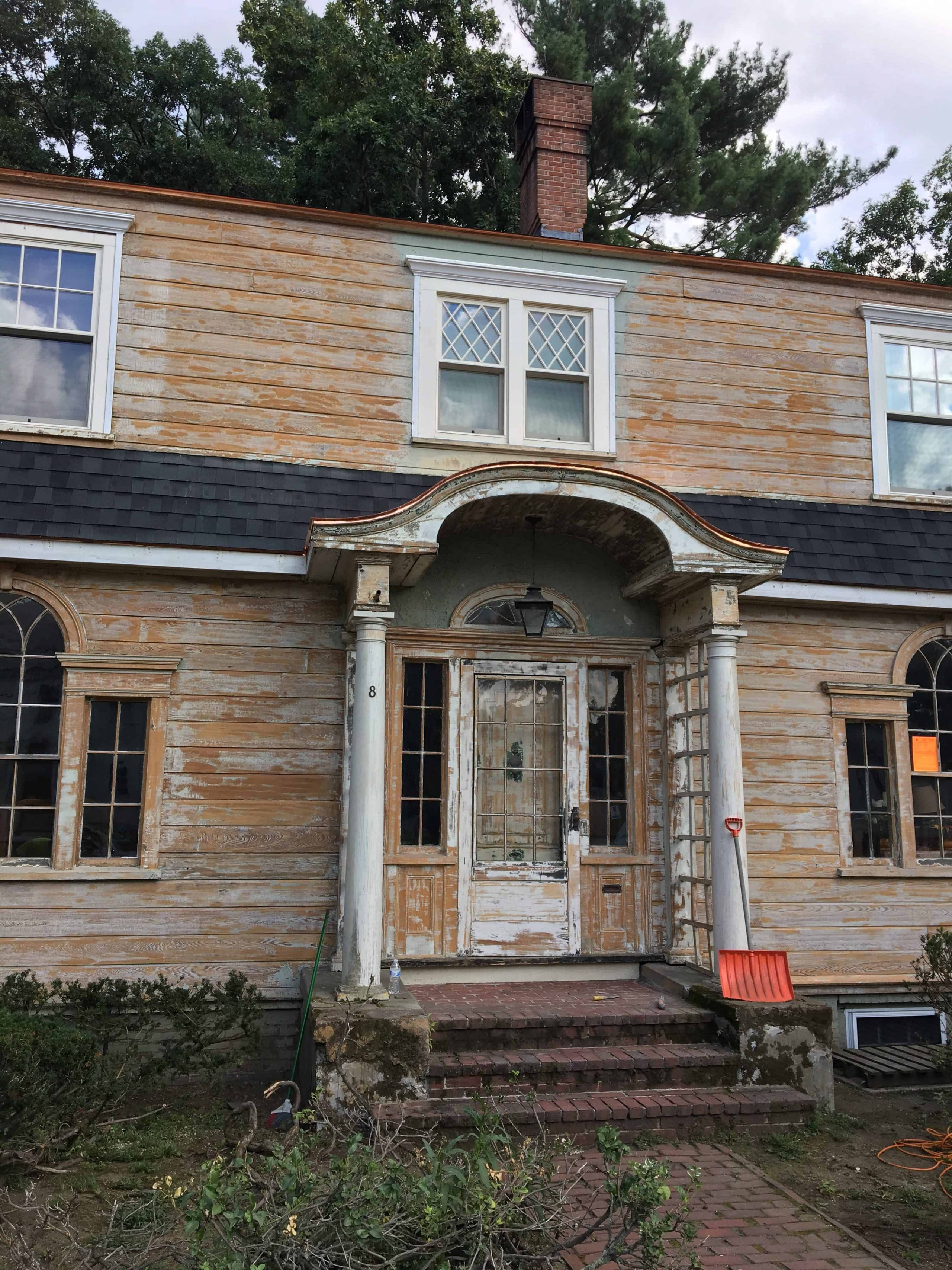 paint removal from cedar shingles