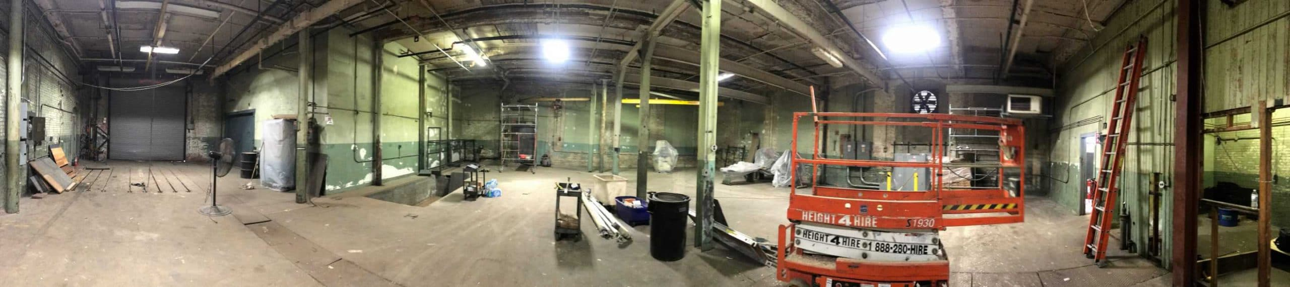 commercial painting project MA