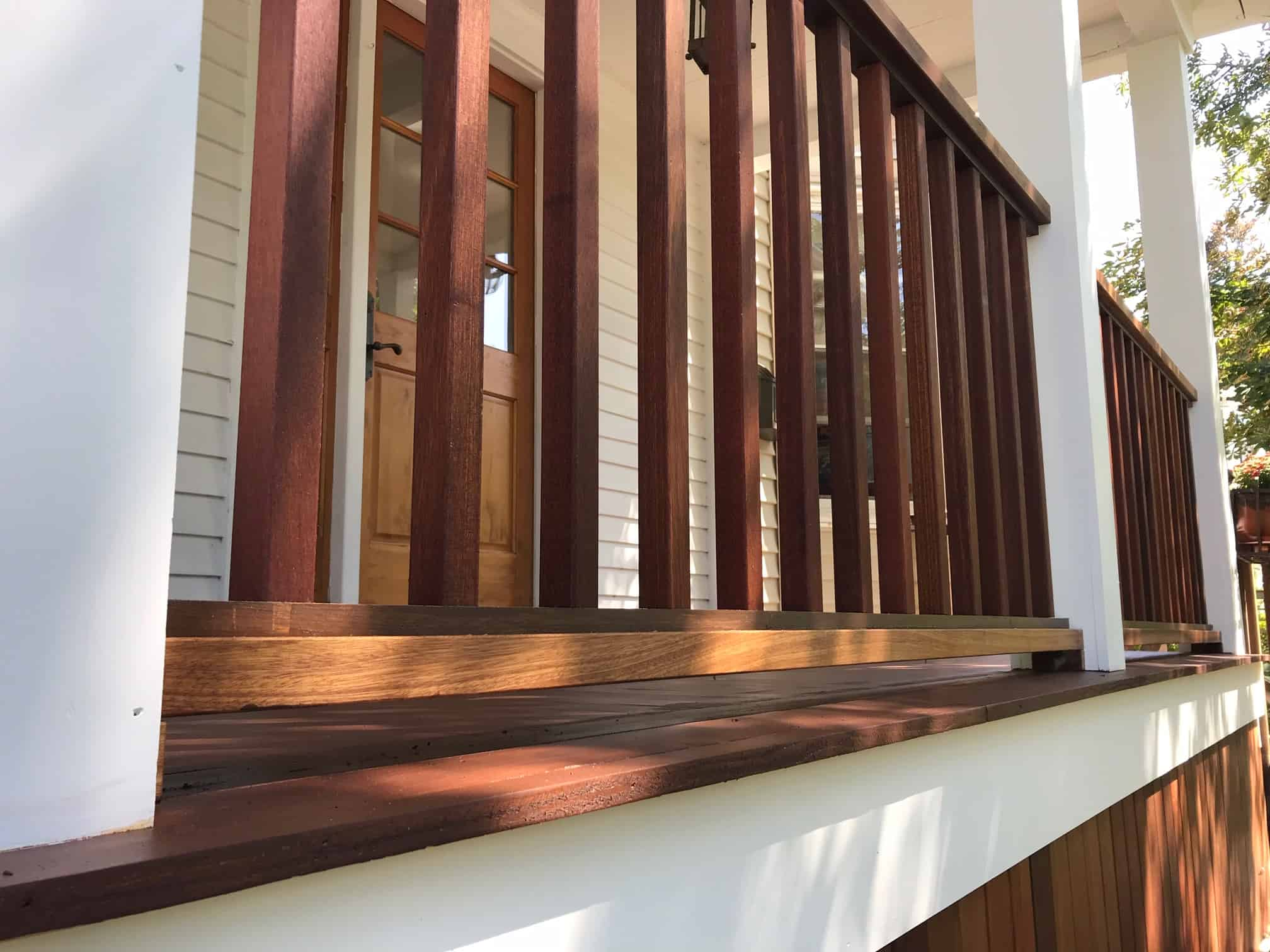 deck repair project in MA