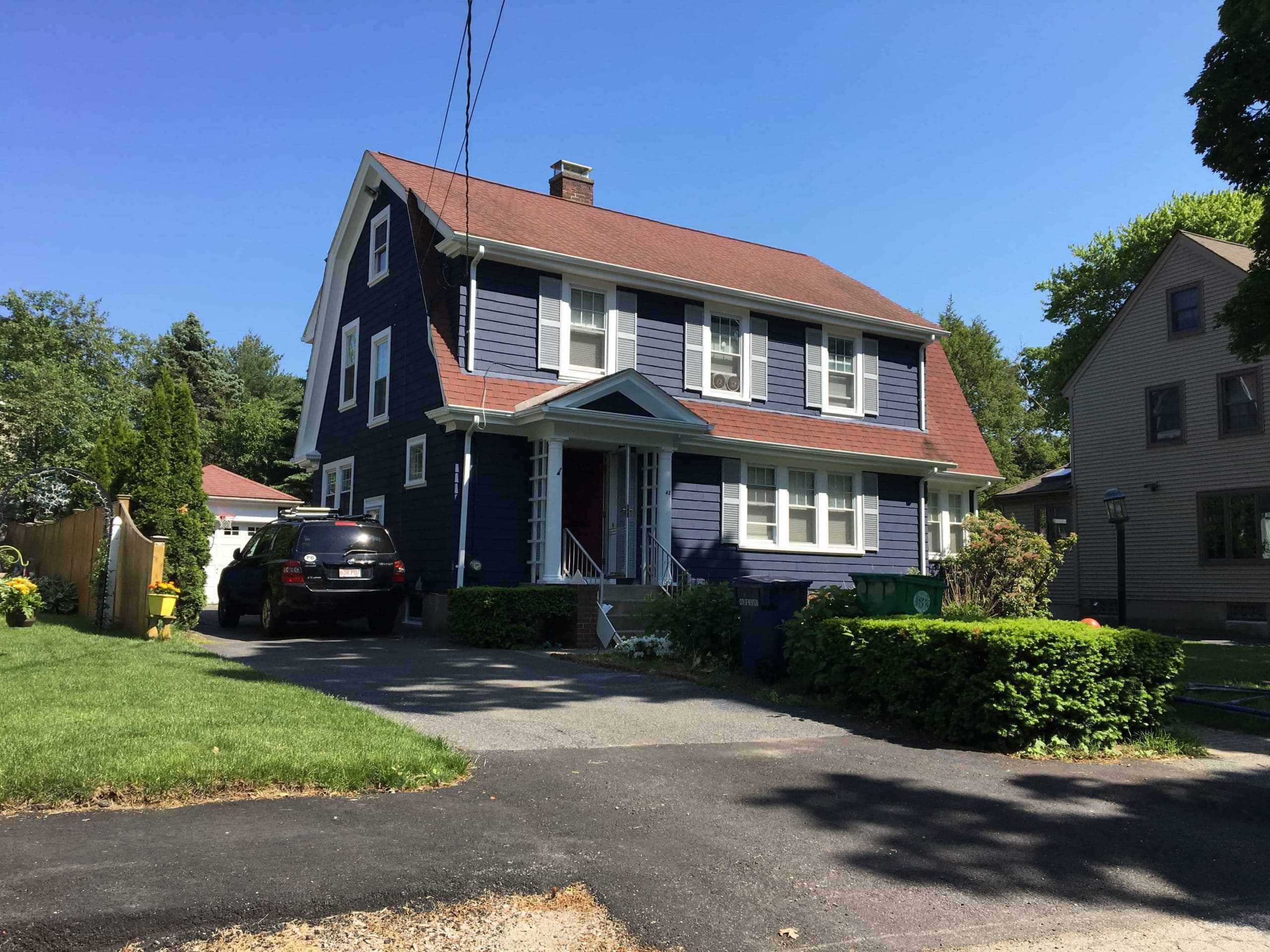 exterior house painting and repair boston