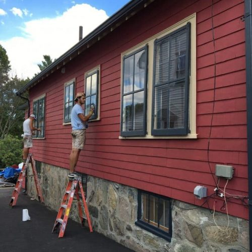 exterior house paint removal massachusetts