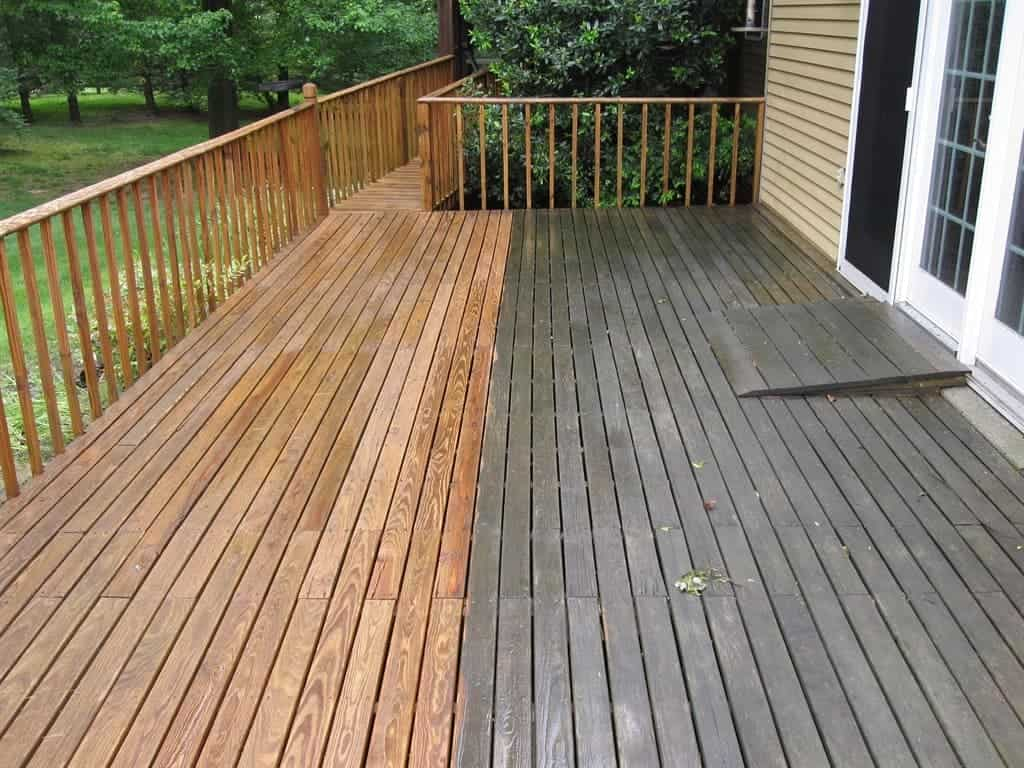power washing deck area massachusetts