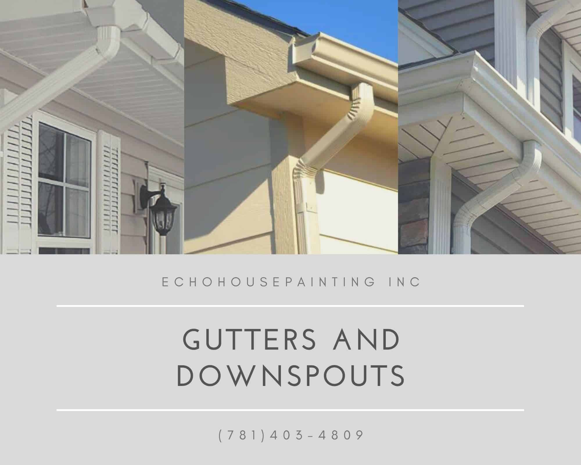 gutters and downspouts repair massachusetts
