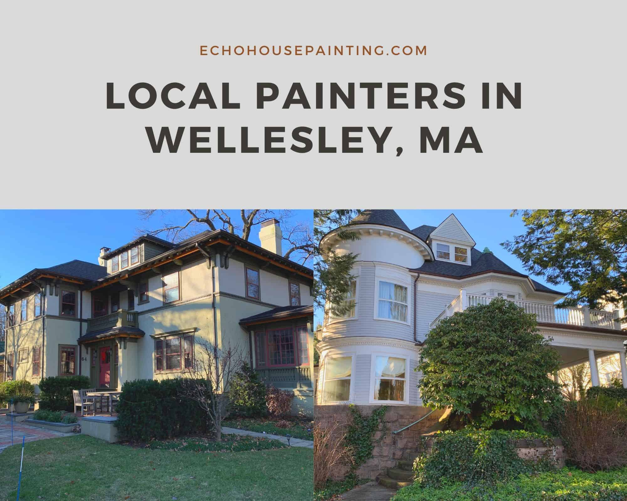 local house painters in wellesley