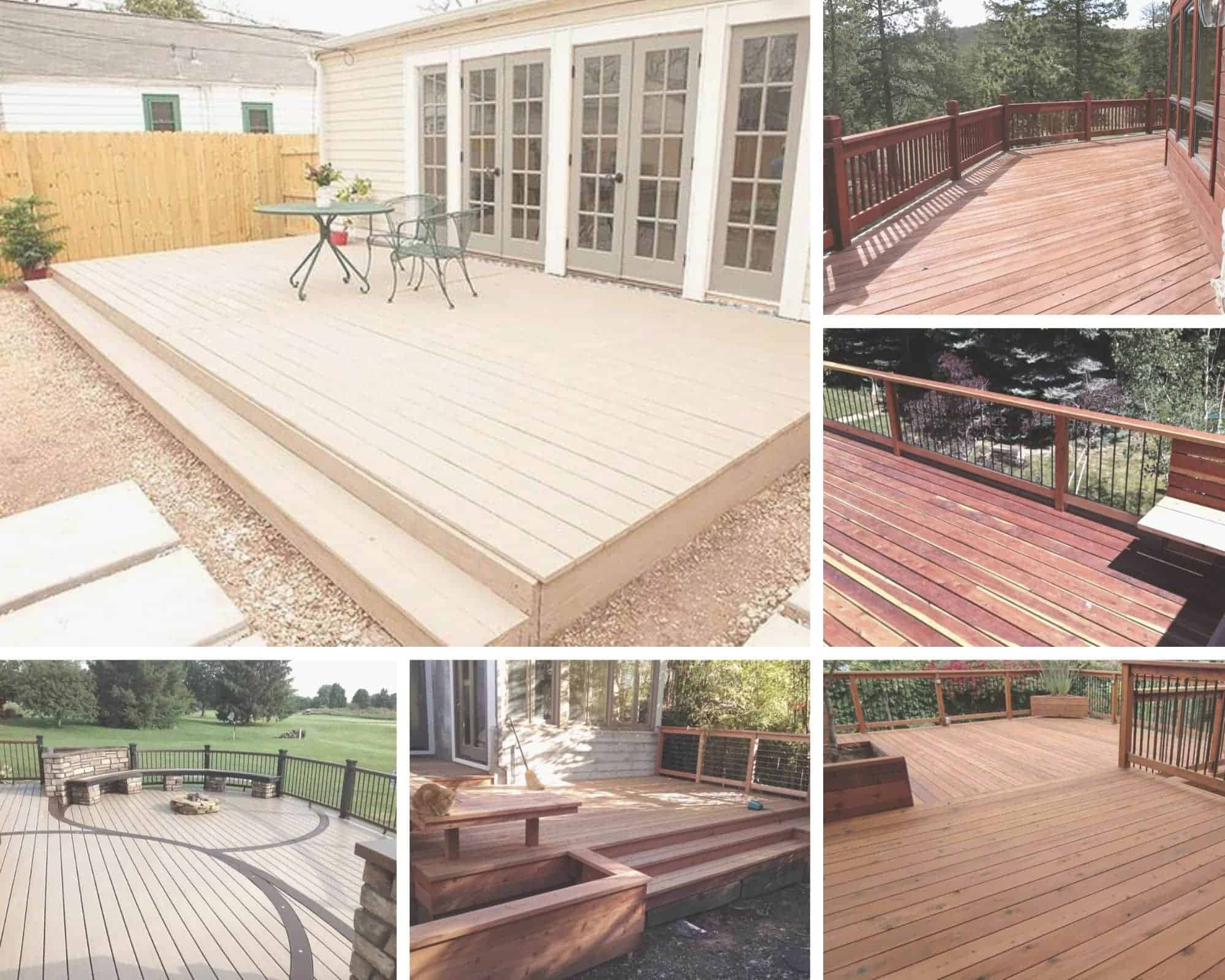 wood decking renovation contractor massachusetts