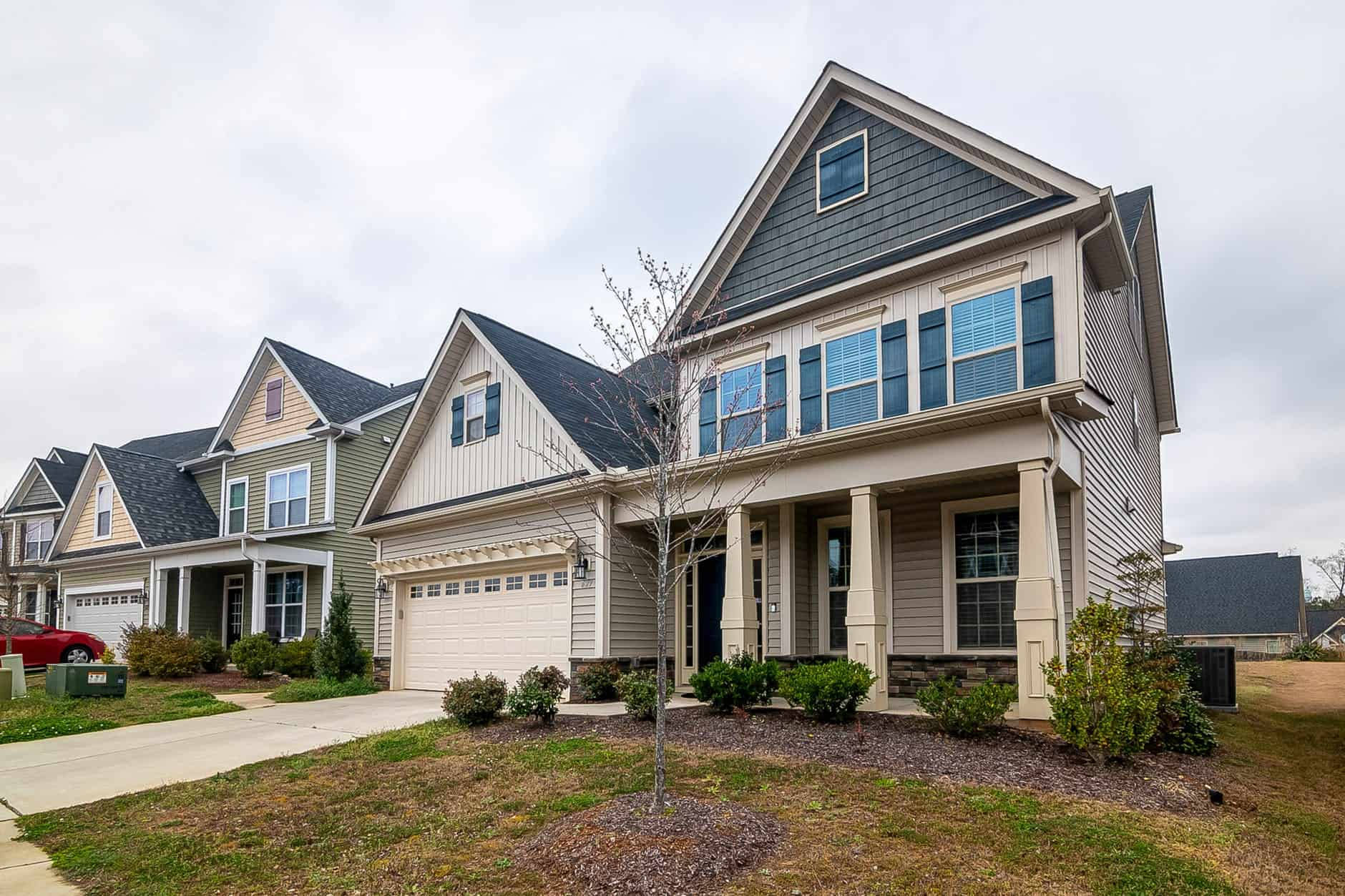 residential exterior house painting contractors in MA