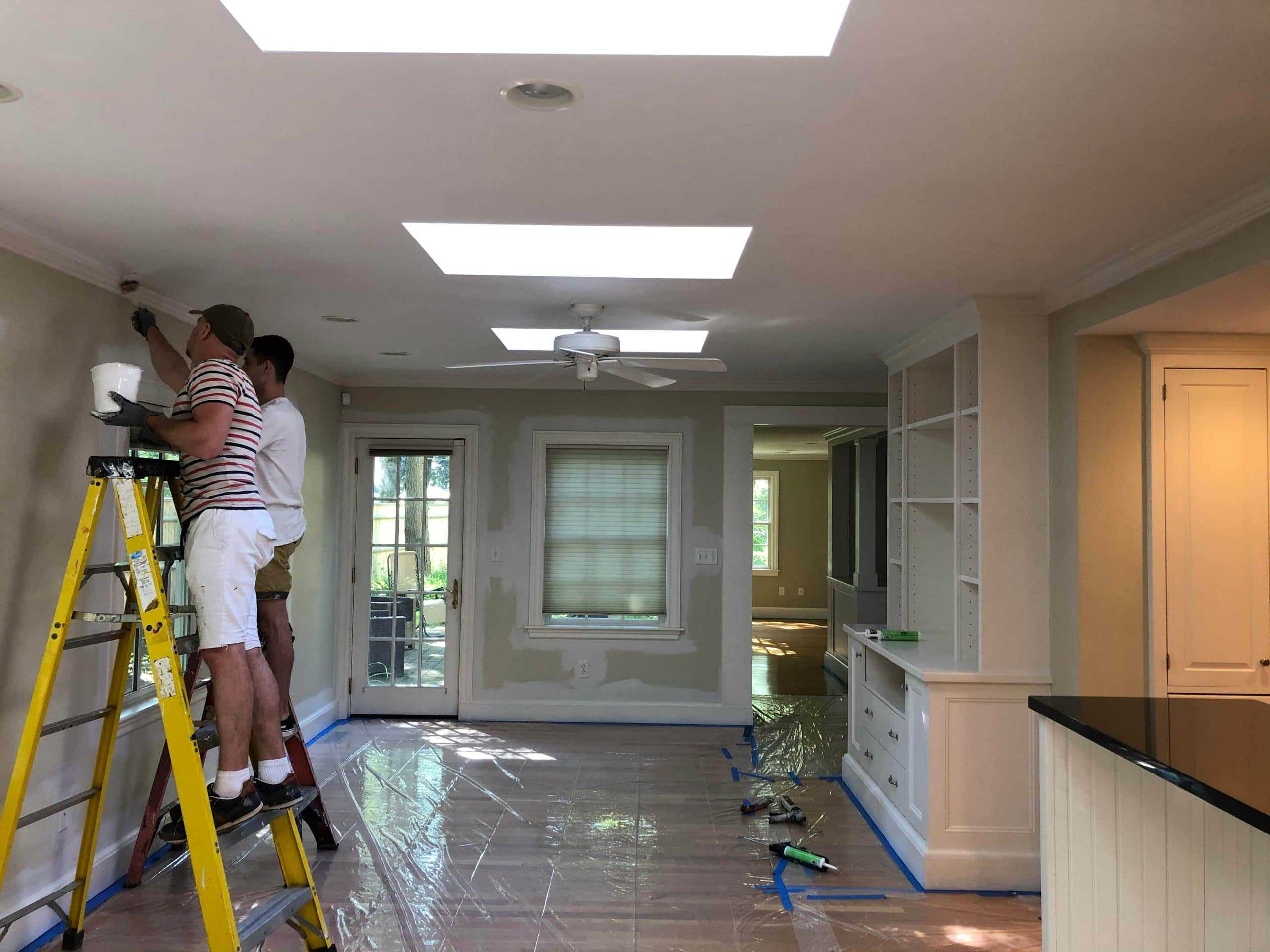 interior house painting works